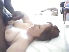 Old couples making their first cuckold flim