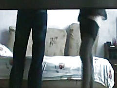 Private Home Clips - Doggy style banging in front of a hidden web camera