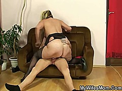 She is away and he banging mother-in-law