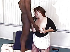 Xhamster - Chubby wife gets bbc. hubby cleans up after