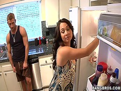 AlotPorn - Horny mom fucking her son's friend hard