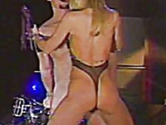 Xhamster - Hot blonde has a biker boy as her slave