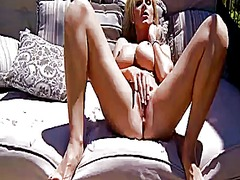 Blonde tanya tate with big tits is to...