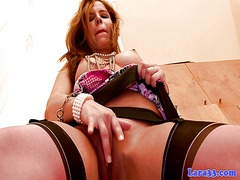 Xhamster - Incredible hot mature in stockings solo loving