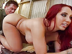 Voluptuous redhead kelly divine with ...