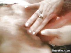 IcePorn - Two horny grandmas are playing with big dildo