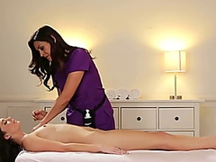 Vporn - Lesbian Massage Therapy