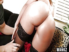 WinPorn - Brianna brooks moaning with a cock in her pussy and a thumb in her ass