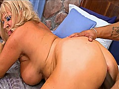 Xhamster - Blonde granny gets pounded by bbc