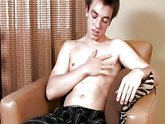 Vporn - Punk Fro Deep Voice Boy Beats Off His Dick!