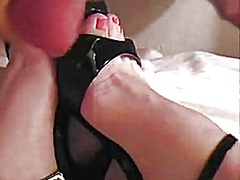 Private Home Clips - Wifes cummy feet