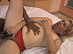 Xhamster - Hairy granny enjoying a young bbc