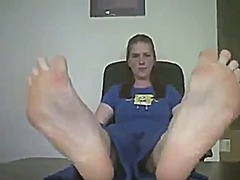 Big redheads smelly feet