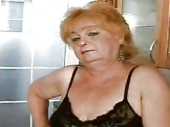 Grandma Eva is one dirty old whore wh...