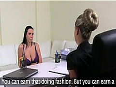 Vporn - Femaleagent Curvaceous MILF with big tits gets fucked