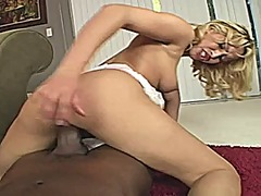 Interracial pov scene with isis love