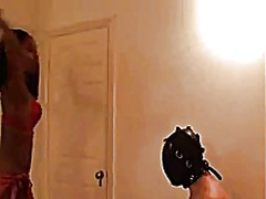 Femdom face whipping faceslapping fac...