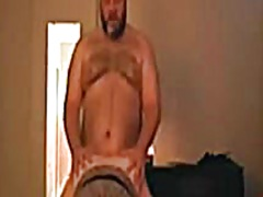 Private Home Clips - Big fat dude gets pussy